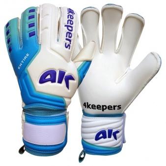 Rękawice 4Keepers Entire Pride HB białe + płyn do czyszczenia S516080