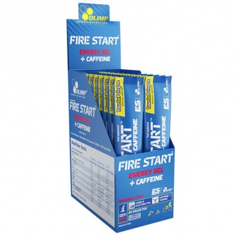 Odżywka Olimp Fire Start Energy Gel 36g kofeina