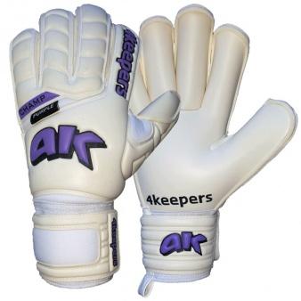Rękawice Champ Purple III RF biało fioletowe