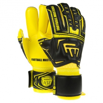 Rękawice bramkarskie FM Clima Black Yellow Contact Grip 4 MM RF v 2.0