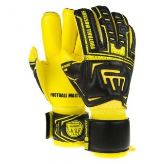 Rękawice FM Clima Black Yellow Contact Grip 4 MM RF Junior v 2.0