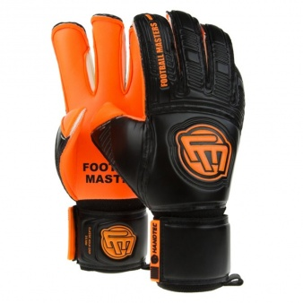 Rękawice FM Classic Black Orange Aqua Grip Mixcut