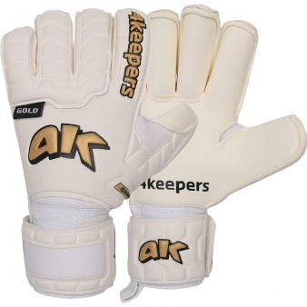 Rękawice 4keepers Champ Black Gold IV RF + płyn czyszczący