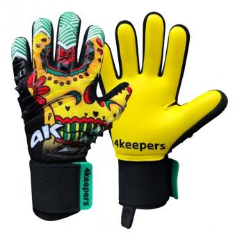 Rękawice 4keepers Evo Halloween NC JNR + płyn czyszczący S630805