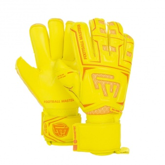 Rękawice FM Clima Yellow Contact Grip RF Junior v 3.0