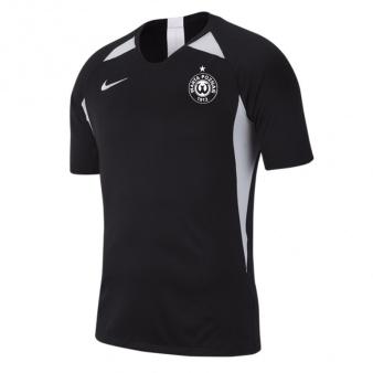 Koszulka piłkarska Warta Poznań HERB S czarna S704951