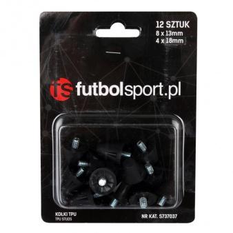 Kołki futbolsport TPU 8x13mm + 4x18mm