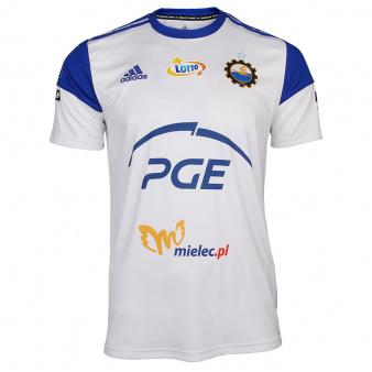 Koszulka meczowa adidas Jr Stal Mielec 2021/22 Squadra S757016 biała
