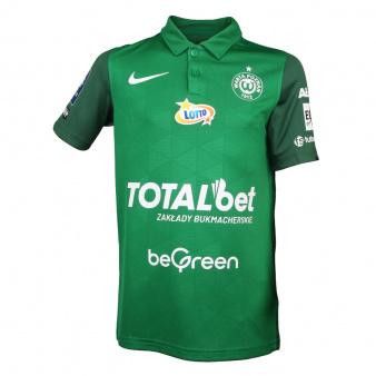 Koszulka meczowa Jr Warta Poznań 2021/22 zielona S762615