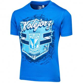 Koszulka dziecięca Tarcza niebieska