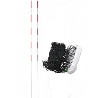 Siatka do siatkówki biała z antenkami