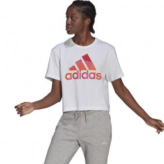 Koszulka adidas Farm Tie-Dye Inspo Cropped Graphic T-Shirt GL0831