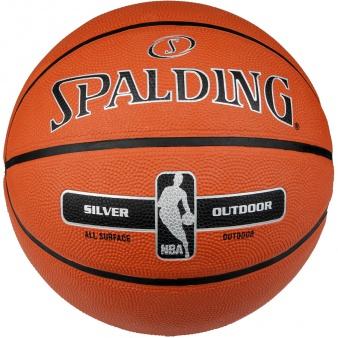 Piłka Spalding NBA Silver Series