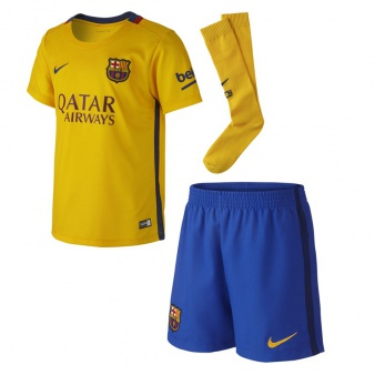 Komplet Nike Jr FC Barcelona Away 658709 740