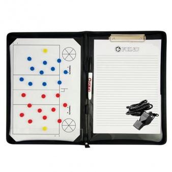 Tablica taktyczna piłka siatkowa - magnetyczna A4 + notatnik + gwizdek piłka siatkowa