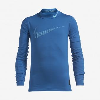 Koszulka Nike B NP WM TOP LS Mock GFX 856134 435