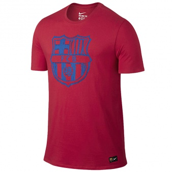 T-Shirt Nike FC Barcelona Crest Tee Junior 805831 633