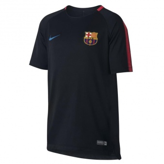 Koszulka Nike FCB Y BRT SQD Top SS 854411 011