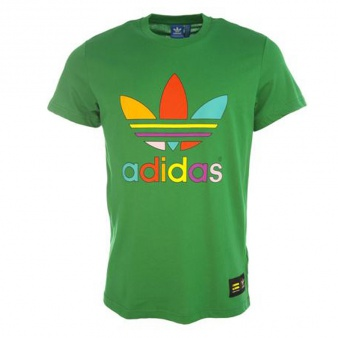 T-Shirt adidas Originals Pharrell Williams Supercolor Trefoil Tee AC5938
