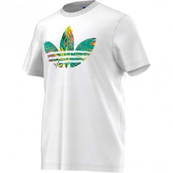 T-Shirt adidas Originals Jungle Trefoil Tee AJ7121