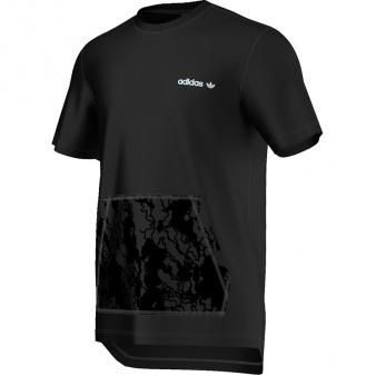 T-Shirt adidas Originals Oversized Camo Pocket Tee AJ7586
