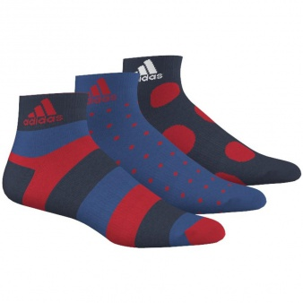 Skarpety adidas Performance graphic ankle thin 3 pary AJ9654