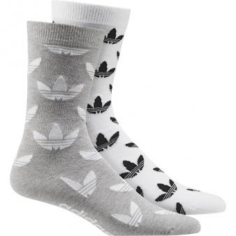 Skarpety adidas Originals Thin Crew Sock Graphic 2P AZ0163