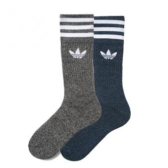 Skarpety adidas Originals Solid Crew Socks Melange 3PP AZ1632