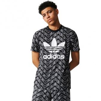 Koszulka adidas Originals SOCCER AOP TEE  BS4965