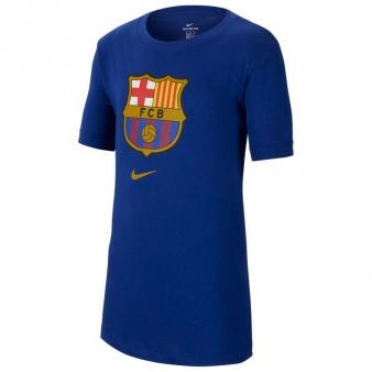 Koszulka Nike FC Barcelona M NK Tee Evergreen Crest CD3115 455