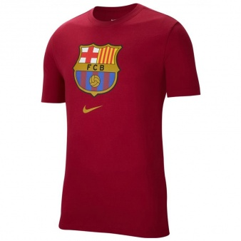 Koszulka Nike FC Barcelona M NK Tee Evergreen Crest CD3115 620