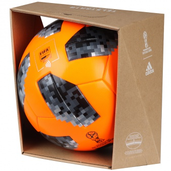 Piłka adidas Telstar World Cup2018  Winterball CE8084