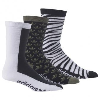 Skarpety adidas crew sock 3-pak