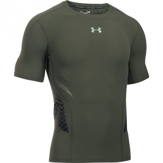 Koszulka kompresyjna Under Armour HeatGear Armour Zonal Comp SS 1289555 330