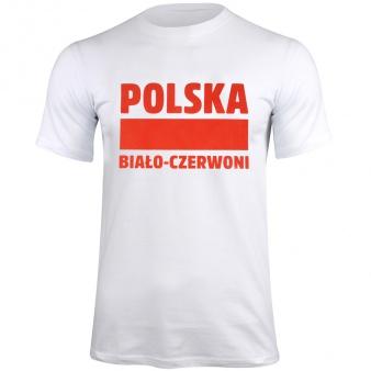 Koszulka Polska Biało-Czerwoni biały S337909