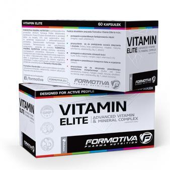 Odżywka Formotiva Vitamine Elite 60 kaps