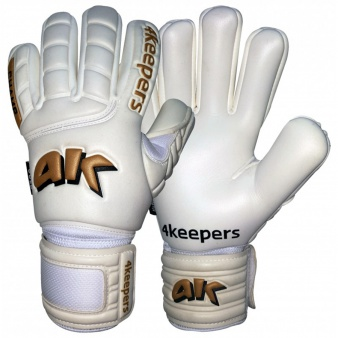 Rękawice 4keepers Champ Gold NC II  + płyn czyszczący S382477
