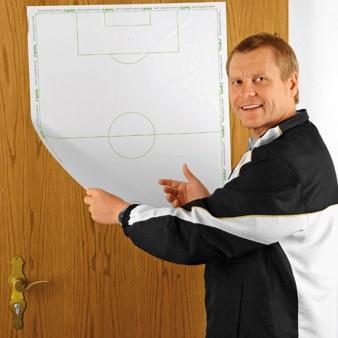 Tablica taktyczna folia piłka nożna  pół boiska
