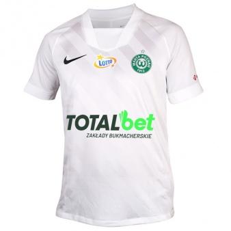 Koszulka meczowa Warta Poznań biała S694506