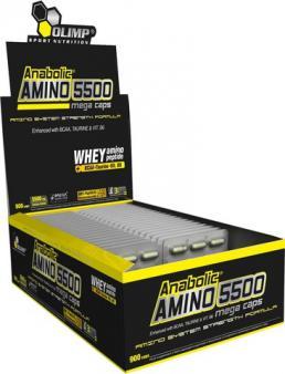Odżywka Olimp Anabolic Amino 550 Mega Caps