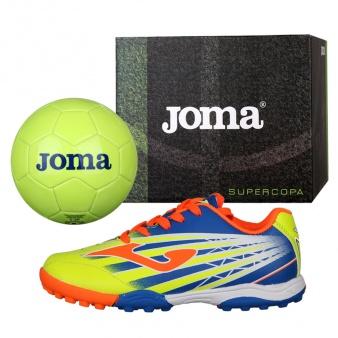 Buty Joma Super Copa JR TF SCJS.911.TF + Piłka Gratis